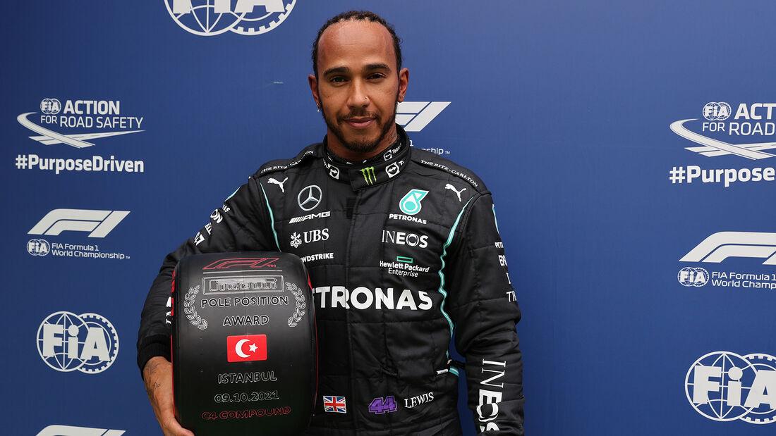 Lewis Hamilton - Mercedes - GP Türkei - Istanbul - Formel 1 - 9. Oktober 2021