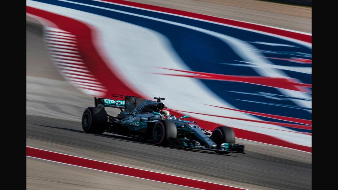 Lewis Hamilton - Mercedes - GP USA 2017 - Qualifying