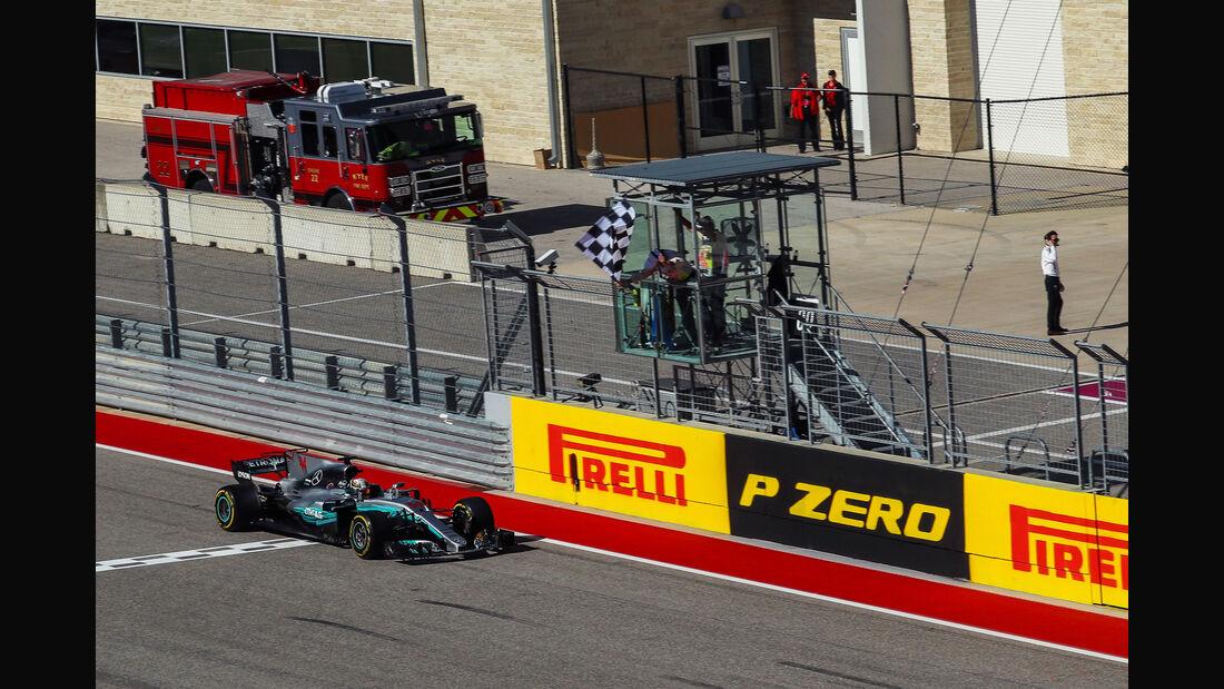 Lewis Hamilton - Mercedes - GP USA 2017 - Rennen