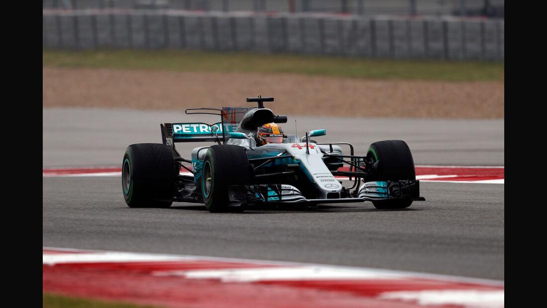 Lewis Hamilton - Mercedes - GP USA - Austin - Formel 1 - Freitag - 20.10.2017