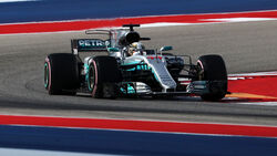 Lewis Hamilton - Mercedes - GP USA - Austin - Formel 1 - Samstag - 21.10.2017