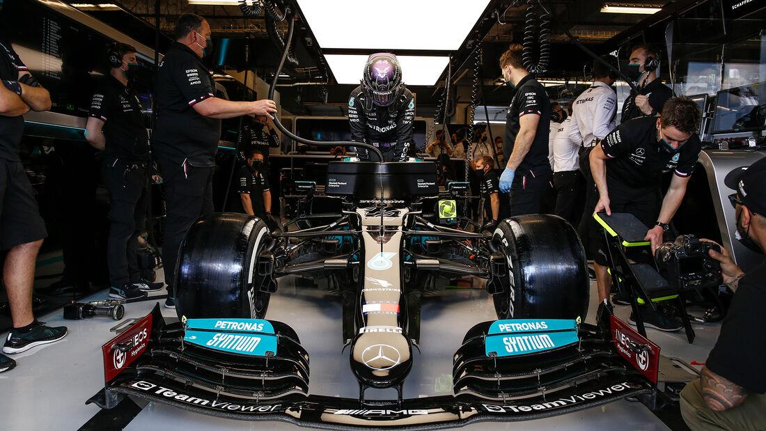 Lewis Hamilton - Mercedes - GP USA - Austin - Samstag - 23.10.2021