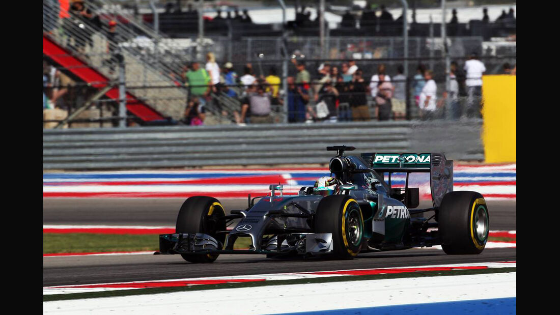 Lewis Hamilton - Mercedes - GP USA - Formel 1 -1. November 2014