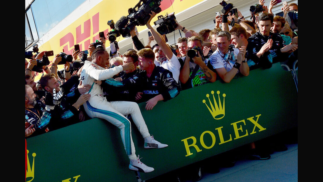 Lewis Hamilton - Mercedes - GP Ungarn 2018 - Budapest
