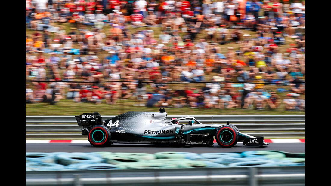 Lewis Hamilton - Mercedes - GP Ungarn 2019 - Budapest - Qualifying