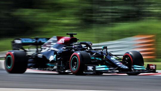 Lewis Hamilton - Mercedes - GP Ungarn 2021 - Budapest