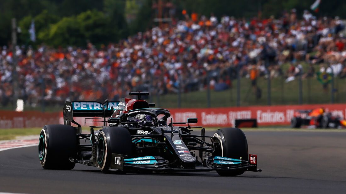 Lewis Hamilton - Mercedes - GP Ungarn 2021 - Budapest - Rennen