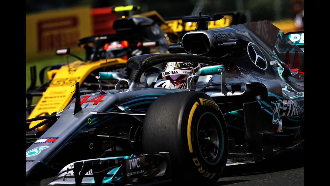Lewis Hamilton - Mercedes - GP Ungarn - Budapest - Formel 1 - 27.7.2018
