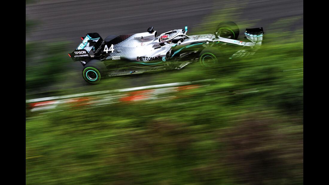 Lewis Hamilton - Mercedes - GP Ungarn - Budapest - Formel 1 - Freitag - 2.8.2019