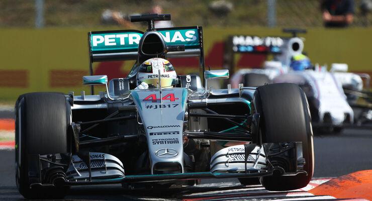 Lewis Hamilton - Mercedes - GP Ungarn - Budapest - Freitag - 24.7.2015