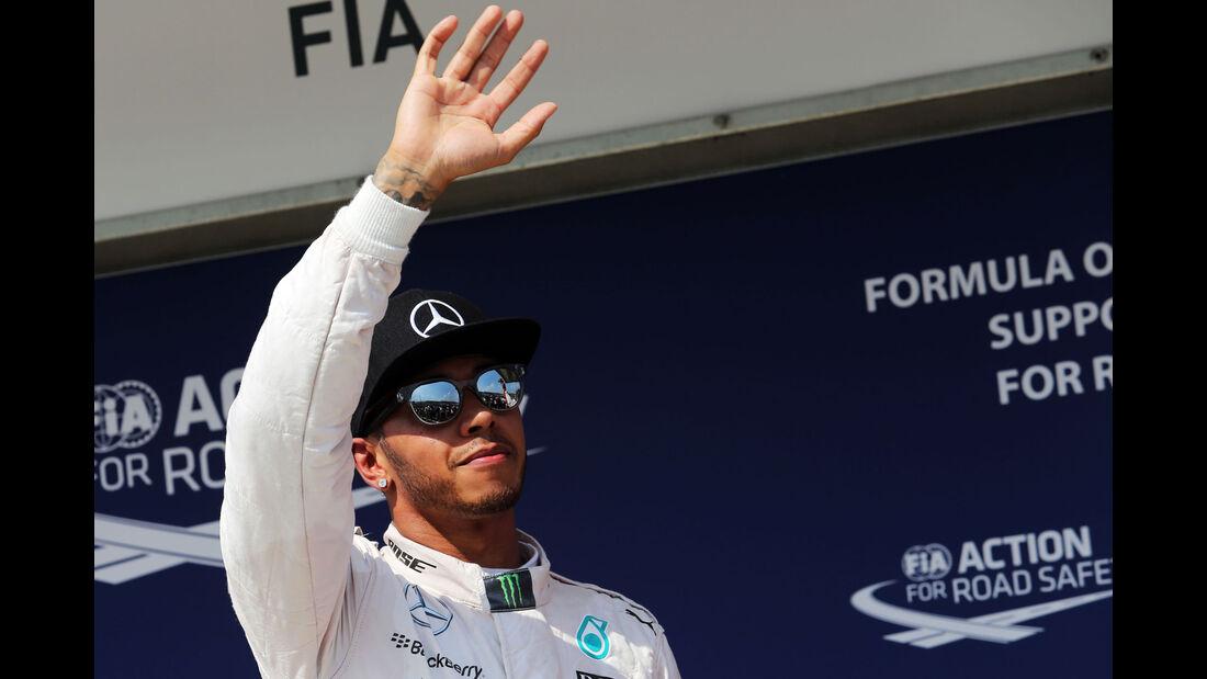 Lewis Hamilton - Mercedes - GP Ungarn - Budapest - Qualifying - Samstag - 25.7.2015