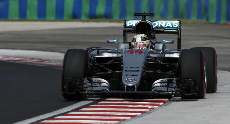 Lewis Hamilton - Mercedes - GP Ungarn - Formel 1 - 22. Juli 2016