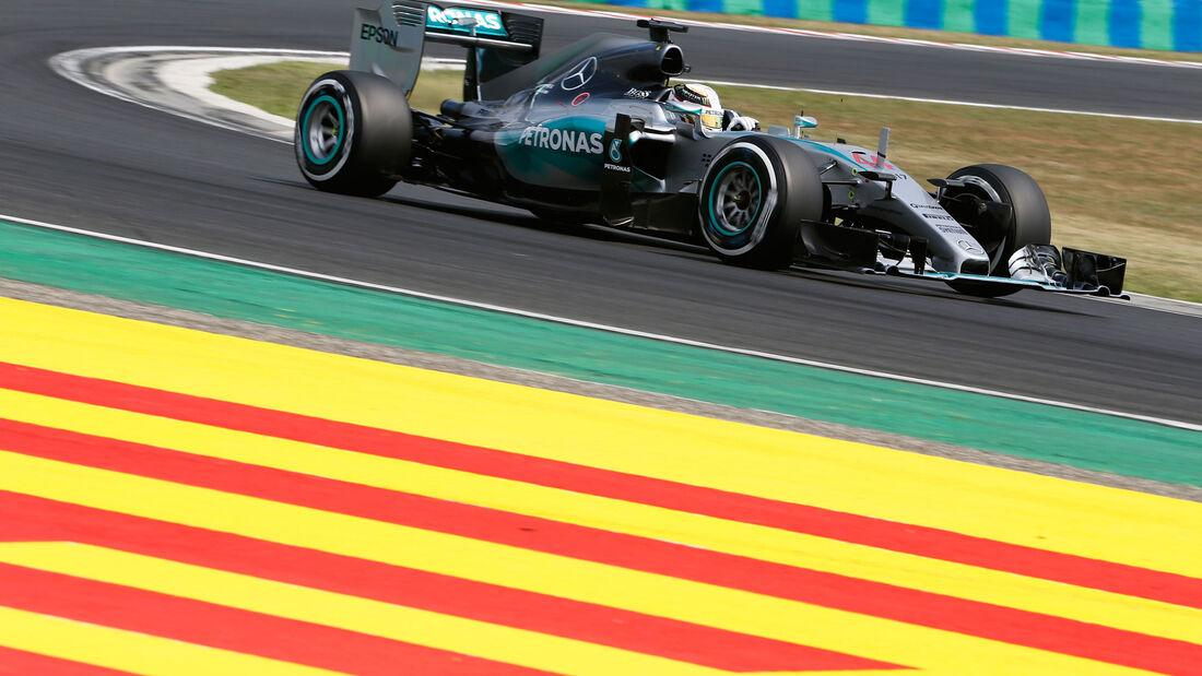 Lewis Hamilton - Mercedes - GP Ungarn - Qualifying - Samstag - 25.7.2015