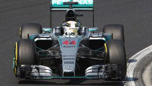 Lewis Hamilton - Mercedes - GP Ungarn - Samstag - 25.7.2015