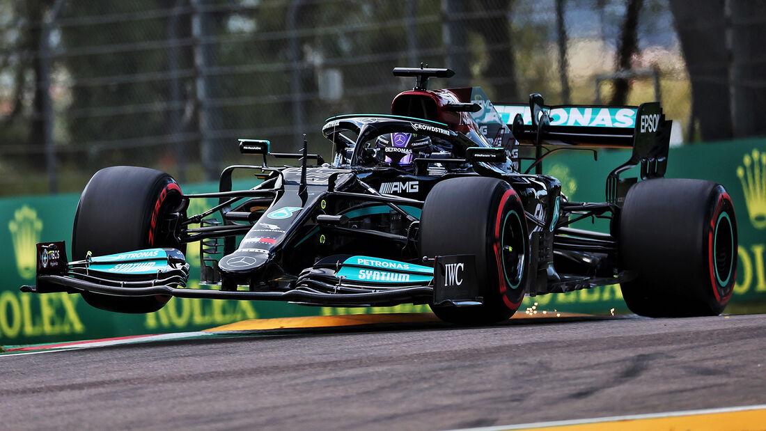 Lewis Hamilton - Mercedes - Imola - Formel 1 - GP Emilia Romagna - 17. April 2021