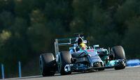 Lewis Hamilton - Mercedes - Jerez-Test - F1 2014