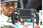 Lewis Hamilton - Mercedes - Lenkrad 2016