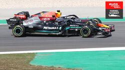 Lewis Hamilton - Mercedes - Max Verstappen - Red Bull - GP Portugal - Portimao