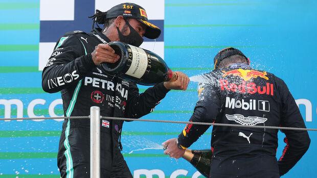 Lewis Hamilton - Mercedes - Max Verstappen - Red Bull - GP Spanien 2020 - Barcelona