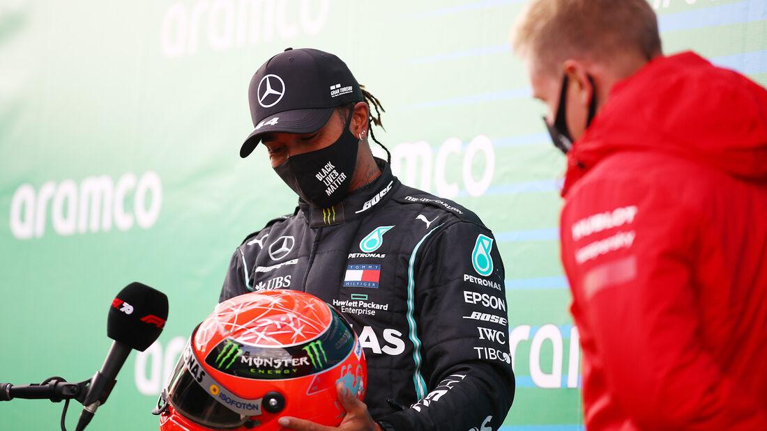 Lewis Hamilton - Mercedes - Mick Schumacher - GP Eifel 2020 - Nürburgring