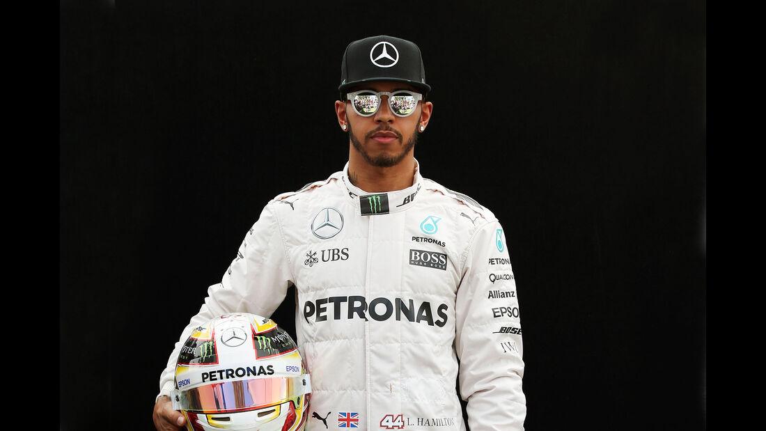 Lewis Hamilton - Mercedes - Porträt - Formel 1 - 2016
