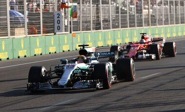 Kein Bremstest von Hamilton