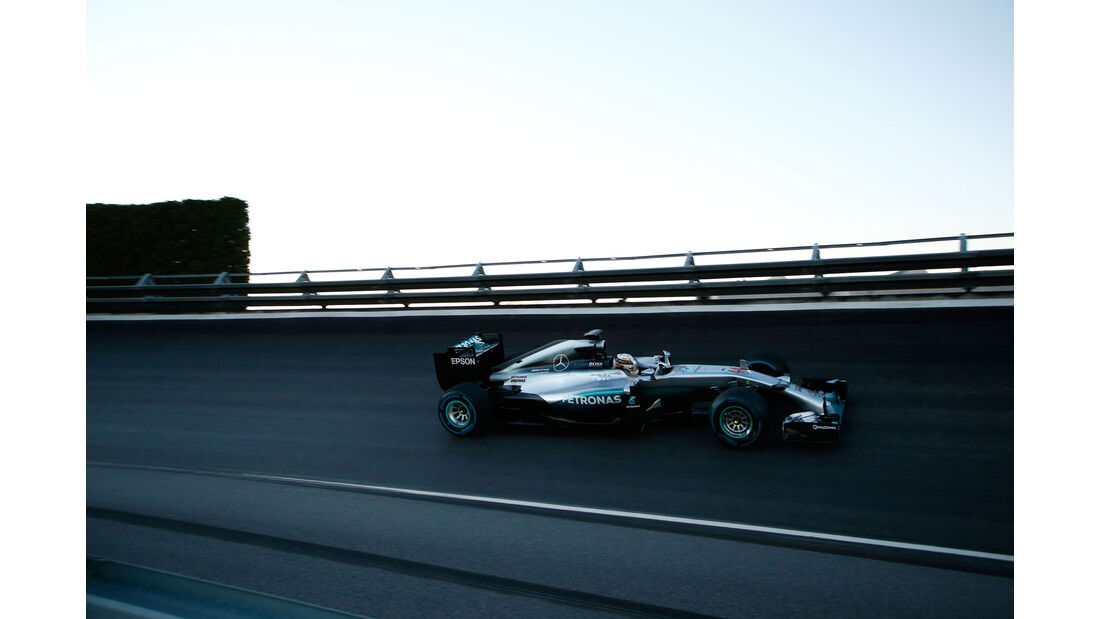Lewis Hamilton - Mercedes - Sindelfingen