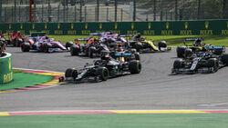 Lewis Hamilton - Mercedes - Spa-Francorchamps - Belgien