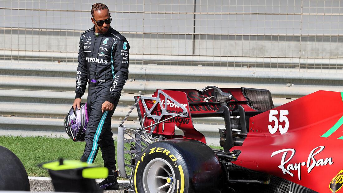 Lewis Hamilton - Mercedes - Test - Formel 1 - Bahrain - 12. März 2021