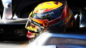 Lewis Hamilton - Mercedes - Testfahrten - Barcelona - Freitag - 10.3.2017