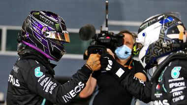 Lewis Hamilton - Mercedes - Valtteri Bottas - GP Bahrain 2020 - Sakhir