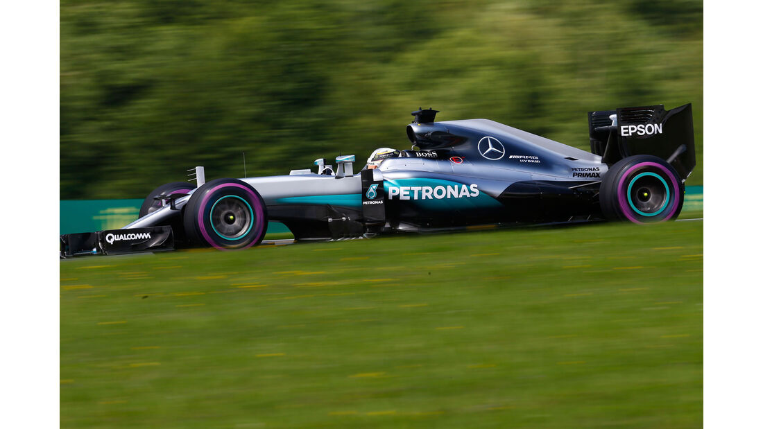 Lewis Hamilton - Mercedes W07 - GP Österreich 2016
