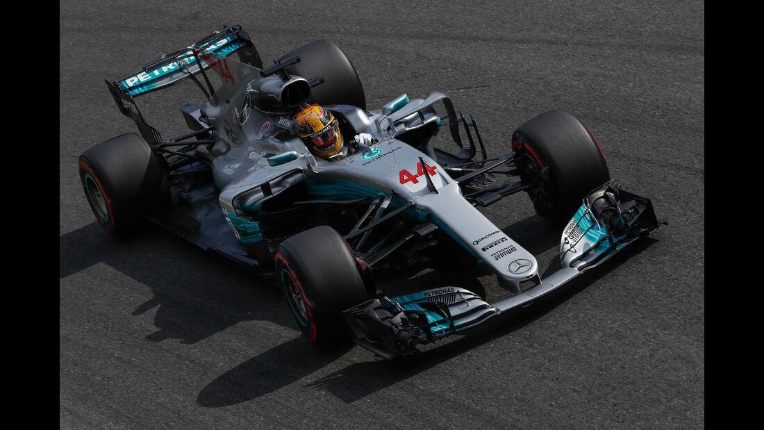 Lewis Hamilton - Mercedes W08 - Formel 1 2017