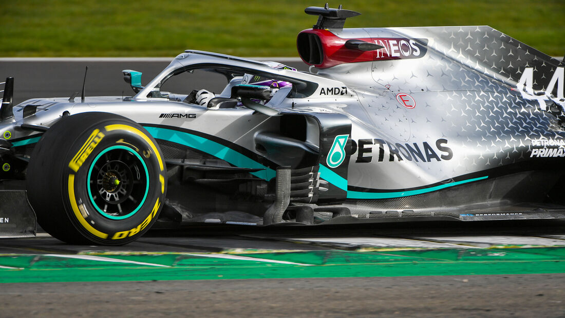 Lewis Hamilton - Mercedes W11 - Shakedown Silverstone - F1-Auto 2020