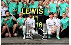 Lewis Hamilton - Nico Rosberg - Mercedes - GP Deutschland 2016 - Hockenheim