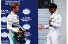 Lewis Hamilton - Nico Rosberg - Mercedes - GP Österreich - Qualifiying - Formel 1 - Samstag - 20.6.2015