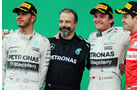 Lewis Hamilton - Nico Rosberg - Sebastian Vettel  - Formel 1 - GP Brasilien- 15. November 2015