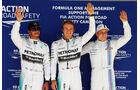 Lewis Hamilton - Nico Rosberg - Valtteri Bottas - Formel 1 - GP USA - 1. November 2014