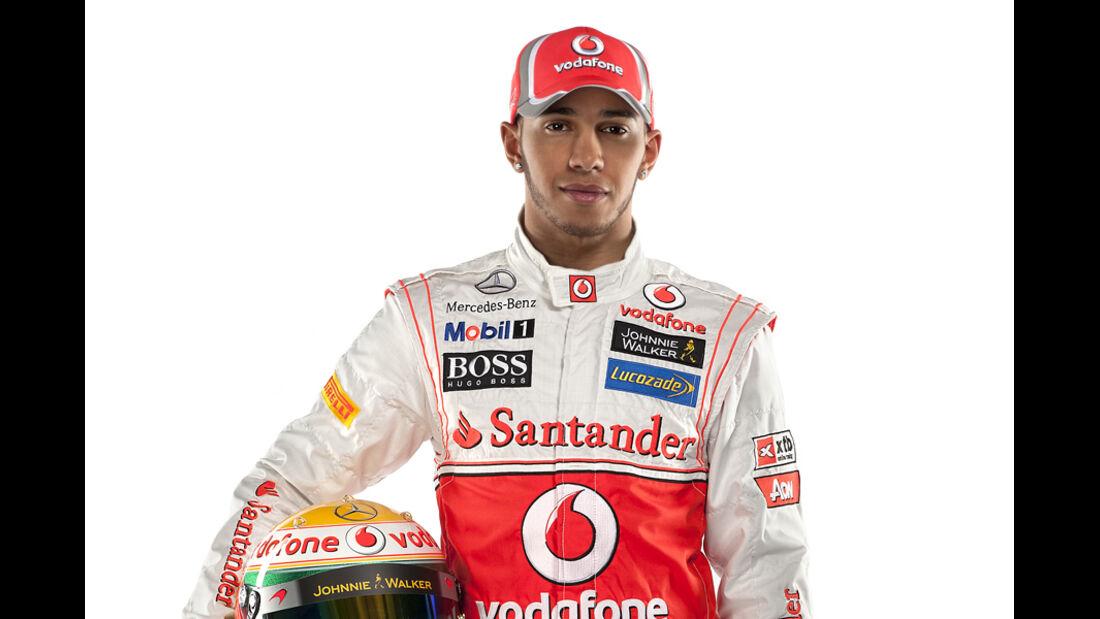 Lewis Hamilton Porträt 2012