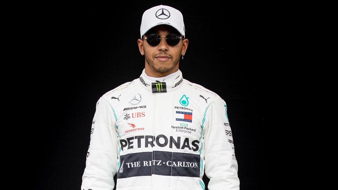 Lewis Hamilton - Porträt & Helm - Formel 1 - 2020