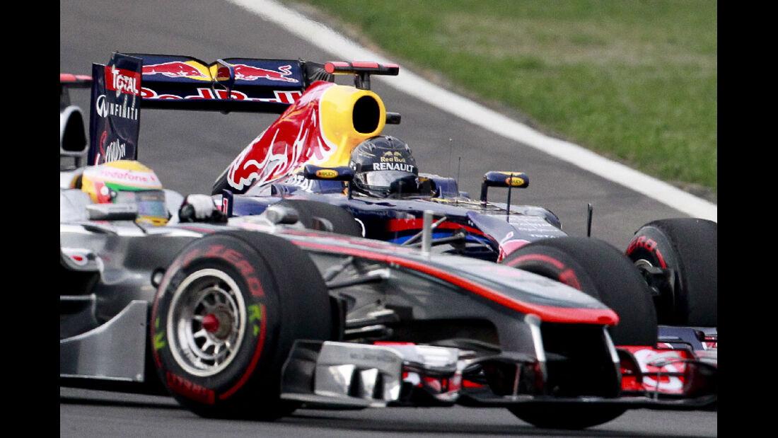 Lewis Hamilton Sebastian Vettel - Formel 1 - GP Korea - 16. Oktober 2011