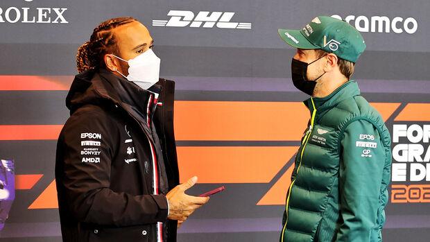 Lewis Hamilton & Sebastian Vettel - Formel 1 - Imola - GP Emilia-Romagna - 15. April 2021