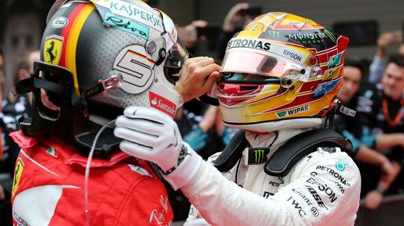 Lewis Hamilton - Sebastian Vettel - Formel 1