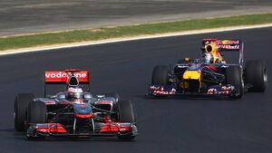 Lewis Hamilton Sebastian Vettel GP Korea