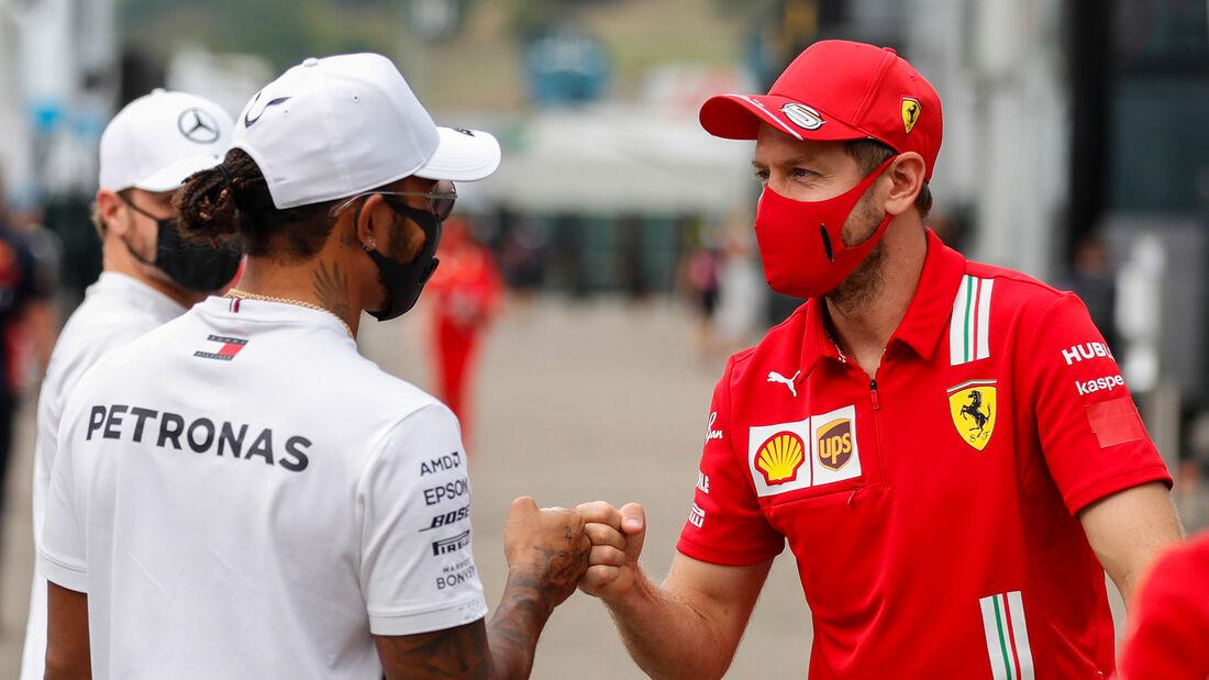 Lewis Hamilton & Sebastian Vettel - GP Toskana 2020