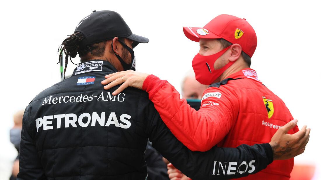Lewis Hamilton - Sebastian Vettel - GP Türkei 2020 - Istanbul - Rennen