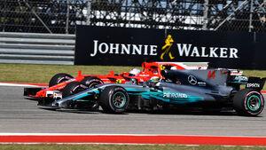 Lewis Hamilton - Sebastian Vettel - GP USA 2017 - Austin