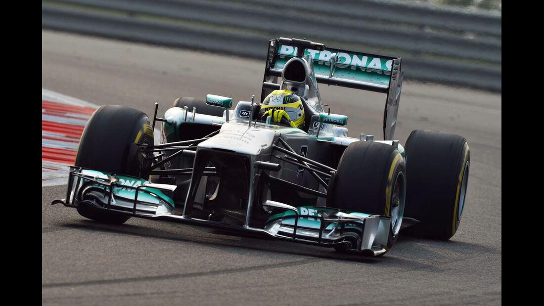 Lewis Hamilton - Sebastian Vettel - Nico Rosberg - Formel 1 - GP Indien - 26. Oktober 2013