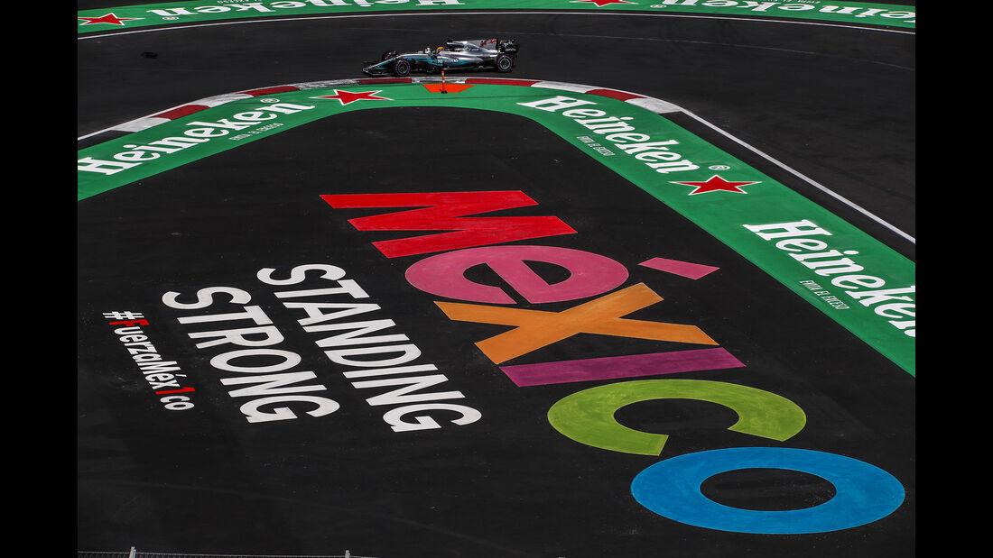 Lewis Hamilton - Stats - GP Mexiko 2017