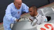 Lewis Hamilton & Stirling Moss